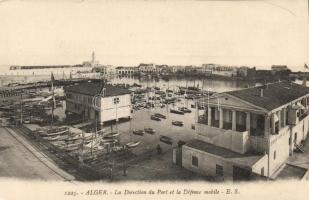 Algiers, Alger; Direction du Port, Defense mobile / port, ships