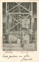 Wieliczka, mine, elevator