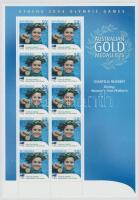 2004 Athéni nyári olimpia: Aranyérmesek kisív Mi 2346