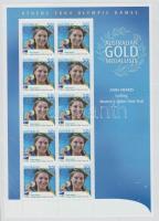 2004 Athéni nyári olimpia: Aranyérmesek kisív Mi 2342