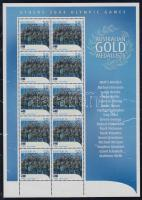 2004 Athéni nyári olimpia: Aranyérmesek kisív Mi 2351