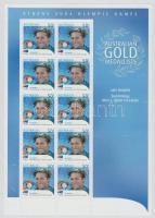 2004 Athéni nyári olimpia: Aranyérmesek kisív Mi 2340