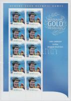 2004 Athéni nyári olimpia: Aranyérmesek kisív Mi 2337