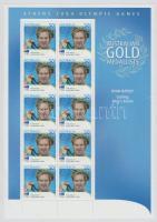 2004 Athéni nyári olimpia: Aranyérmesek kisív Mi 2350