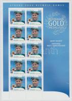 2004 Athéni nyári olimpia: Aranyérmesek kisív Mi 2344