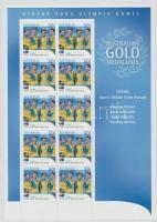 2004 Athéni nyári olimpia: Aranyérmesek kisív Mi 2347