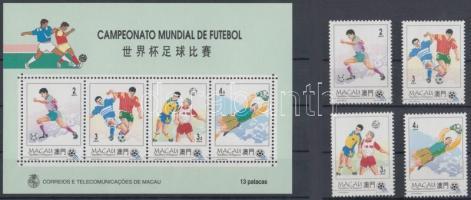 1994 Labdarúgó VB, USA sor Mi 759-762 + blokk 27