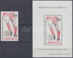 1994 Labdarúgó VB, USA bélyeg Mi 2183 + fogazott blokk formában
