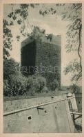 Cheb, Eger; Kaiserburg, schwarzer Turm / castle tower