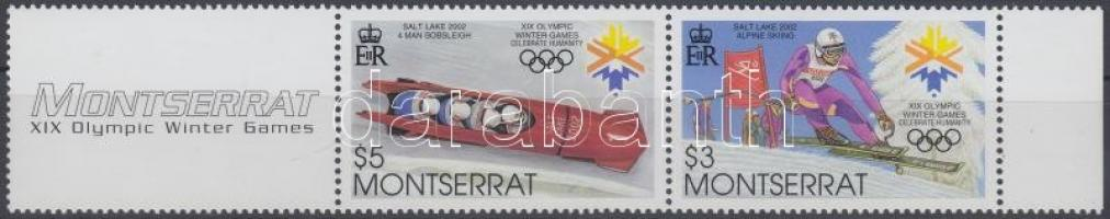 2002 Téli olimpia, Salt Lake City pár szelvénnyel Mi 1176-1177