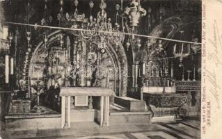 Jerusalem church interior