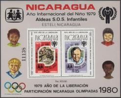 1980 Nyári olimpia blokk Mi 110 B