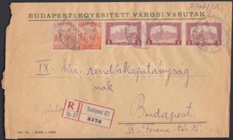 1920 (2. díjszabás) Helyi ajánlott levél