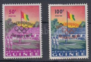 1960 Római olimpia Mi 49-50