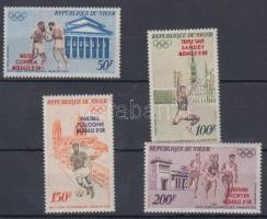 1972 A müncheni olimpia aranyérmesei sor Mi 348-351