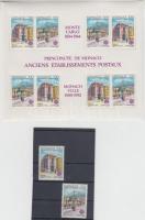 1990 Europa CEPT: Posta épületek sor Mi 1961-1962 + blokk 47