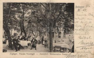 Budapest XII. Zugliget, Fácán Vendéglő