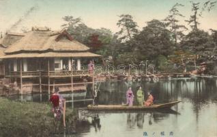 Hikone pond