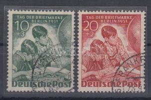 1951 Bélyegnap sor Mi 80-81