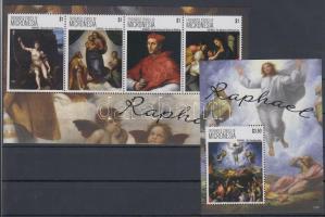 2012 Raffaello festmények kisív + blokk