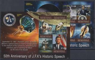 2012 Holdraszállás - Kennedy történelmi jelentőségű beszédének 50. évfordulója kisívpár