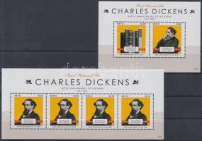 2012 200 éve született Charles Dickens kisív + blokk