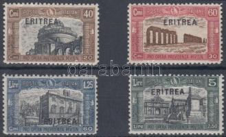 1927 Nemzeti milícia sor Mi 121-124 (sarokfog hiány)