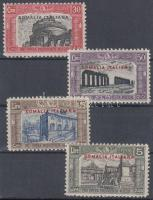 1929 Nemzeti milícia sor Mi 123-126