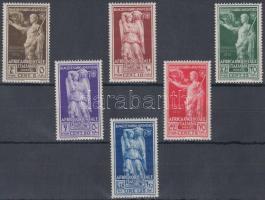 Emperor Augustus set without airmail stamps Augustus császár sor légiposta értékek nélkül