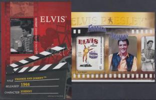 Elvis Presley mozifilmekben 2 klf blokk Elvis Presley in Movies 2 diff. blocks
