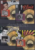 Elvis Presley blokksor, 4 klf blokk Elvis Presley block set, 4 diff. blocks
