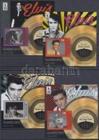 Elvis Presley block set, 4 different block Elvis Presley blokksor, 4 klf blokk