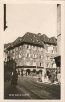 Graz Luegg house, Postcard shop, Leopold Schreiner's shop, Graz Luegg Haus, Ansichtskarten Zentrale, Leopold Schreiner's Geschäft