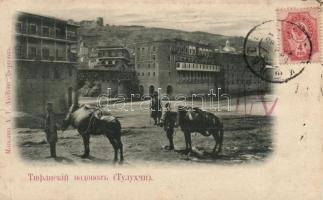 Tbilisi, Tiflis; water carrying