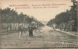 Thessaloniki, King Constantin boulevard