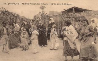 Thessaloniki, Vardar district, refugees