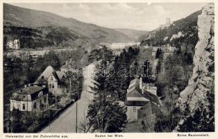 Baden bei Wien, Ruine Rauhenstein, Helenental