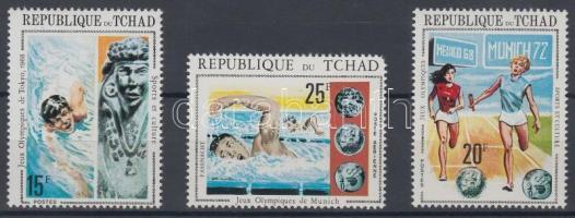 1971 Olimpiai játékok sor Mi 379 A-381 A