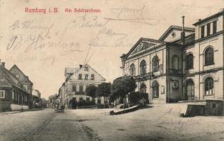 Rumburk, Rumburg; Am Schützenhaus / restaurant
