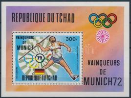 1972 Müncheni nyári olimpia blokk Mi 54 A