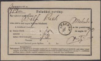 1870 Feladóvevény FACSET