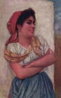 Gypsy girl, s: J. Zenisek, Cigány lány, s: J. Zenisek