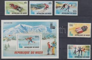 1979 Téli olimpia, Lake Placid sor 685-689 + blokk 26