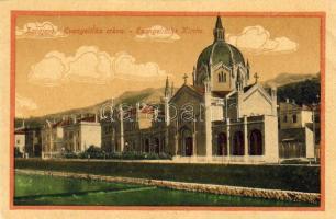Sarajevo evangelical church, Szarajevó evangélikus templom