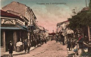 Gorna Oriachovica, bazaar