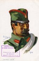 Serbian army, infantryman, s: Em. Dupuis, Szerb hadsereg, gyalogos, s: Em. Dupuis
