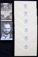 Vegyes nyomtatvány és aláírás tétel: Levente Péter dedikált fotó + Görz képeslap + Budapest Székesfőváros polgármestere 6 db levélboríték
