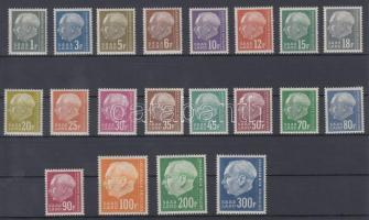 1957 Forgalmi sor Mi 409-428