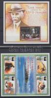 2000 Nyári Olimpia Sydney kisív Mi 767-770 + blokk Mi 84