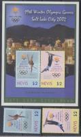2002 Téli Olimpia Salt Lake City Mi 1789-1790 + blokk 213